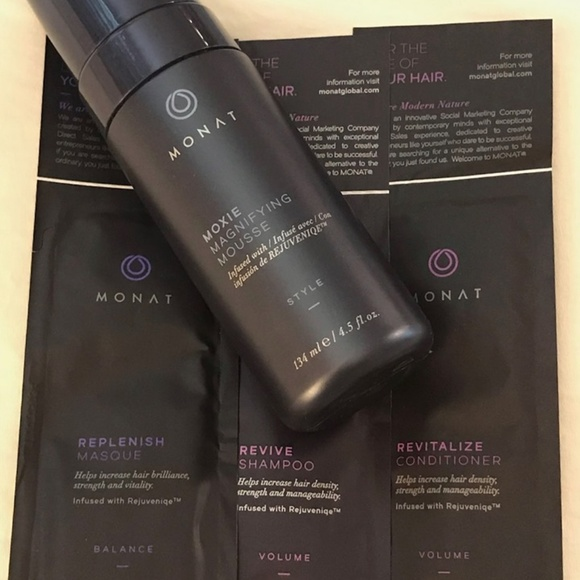 monat Other - Monat Moxie Magnifying Mousse & Samples